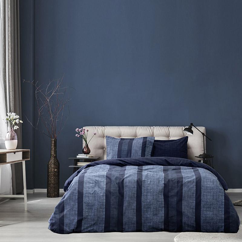Σεντόνια Μονά (Σετ) 100X200+30 Kocoon Alba Blue Με Λάστιχο (100×200+30)