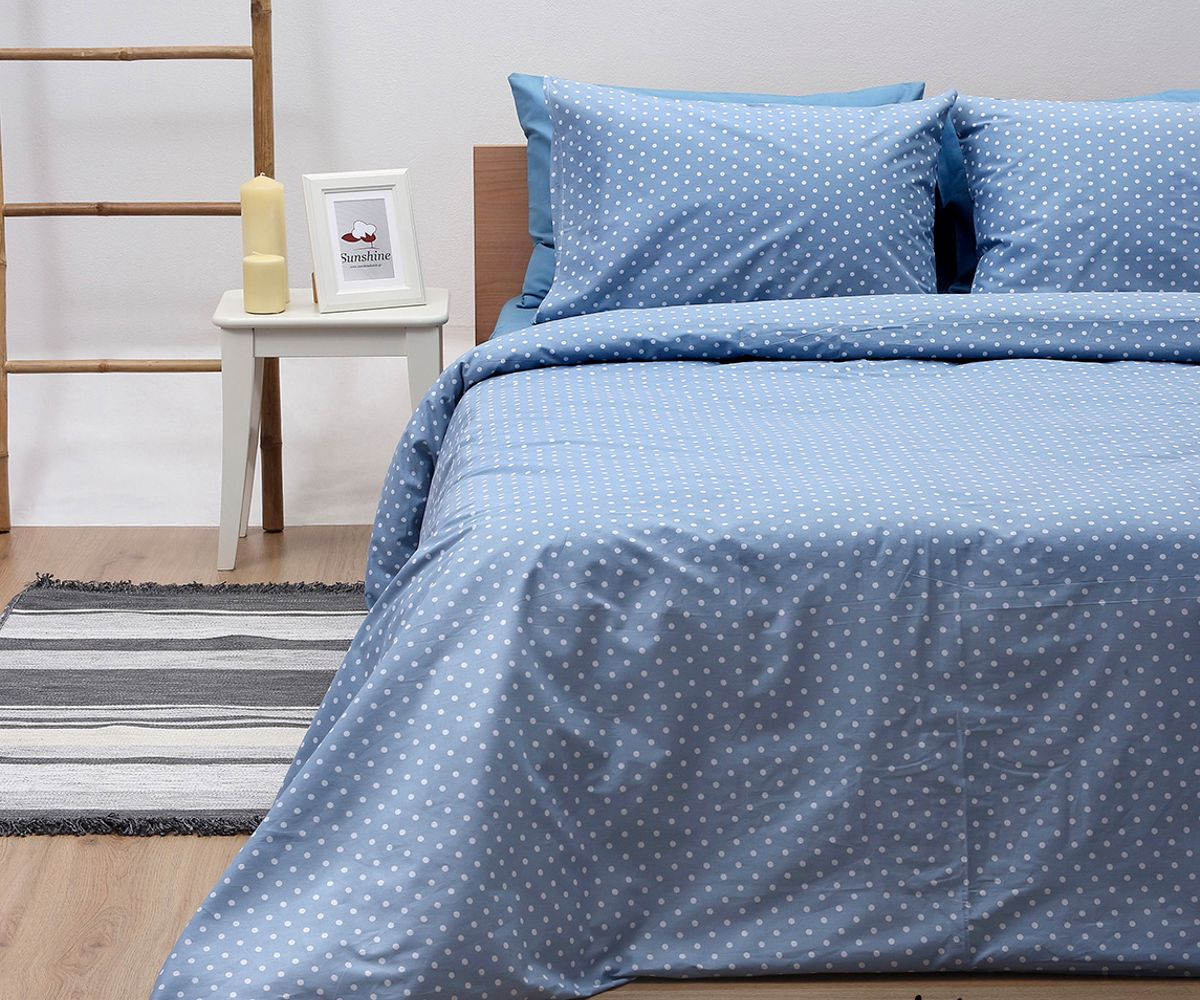 Σεντόνια Διπλά (Σετ) Blue 5416