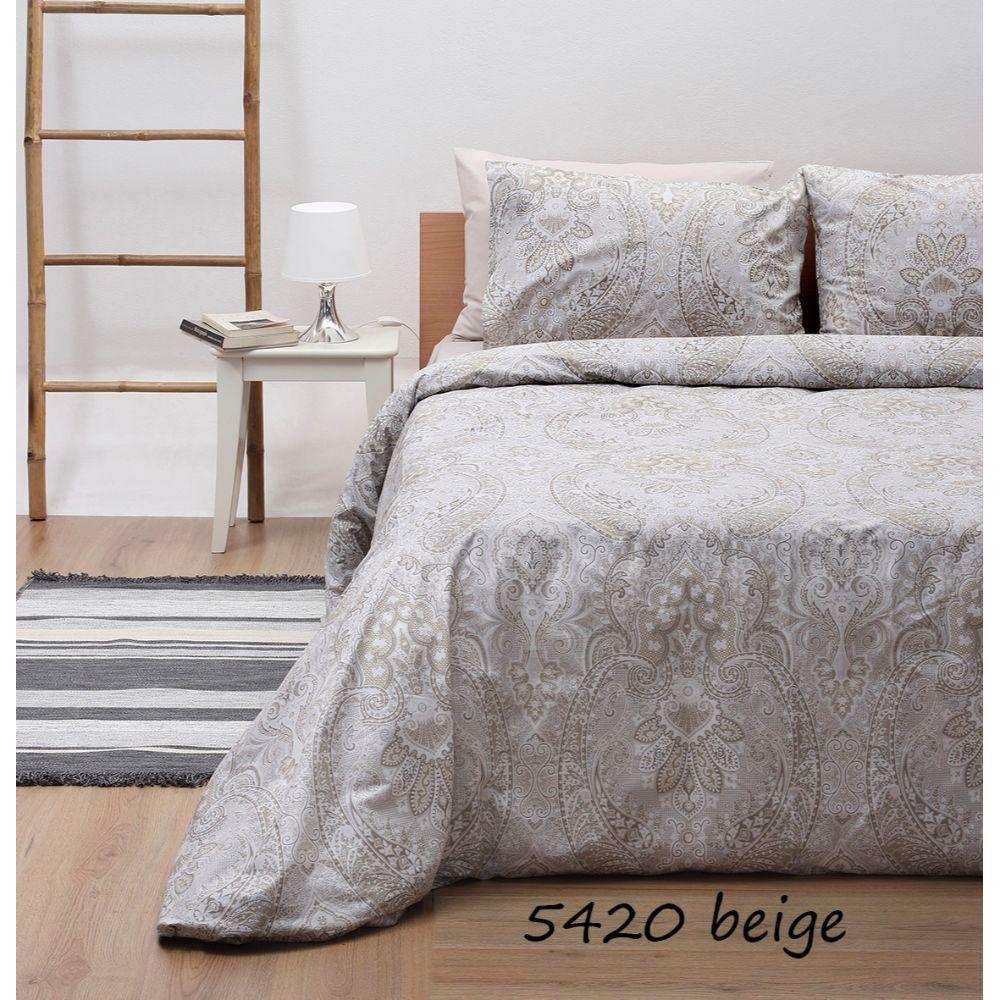 Σεντόνια Μονά (Σετ) Sunshine Beige 5420