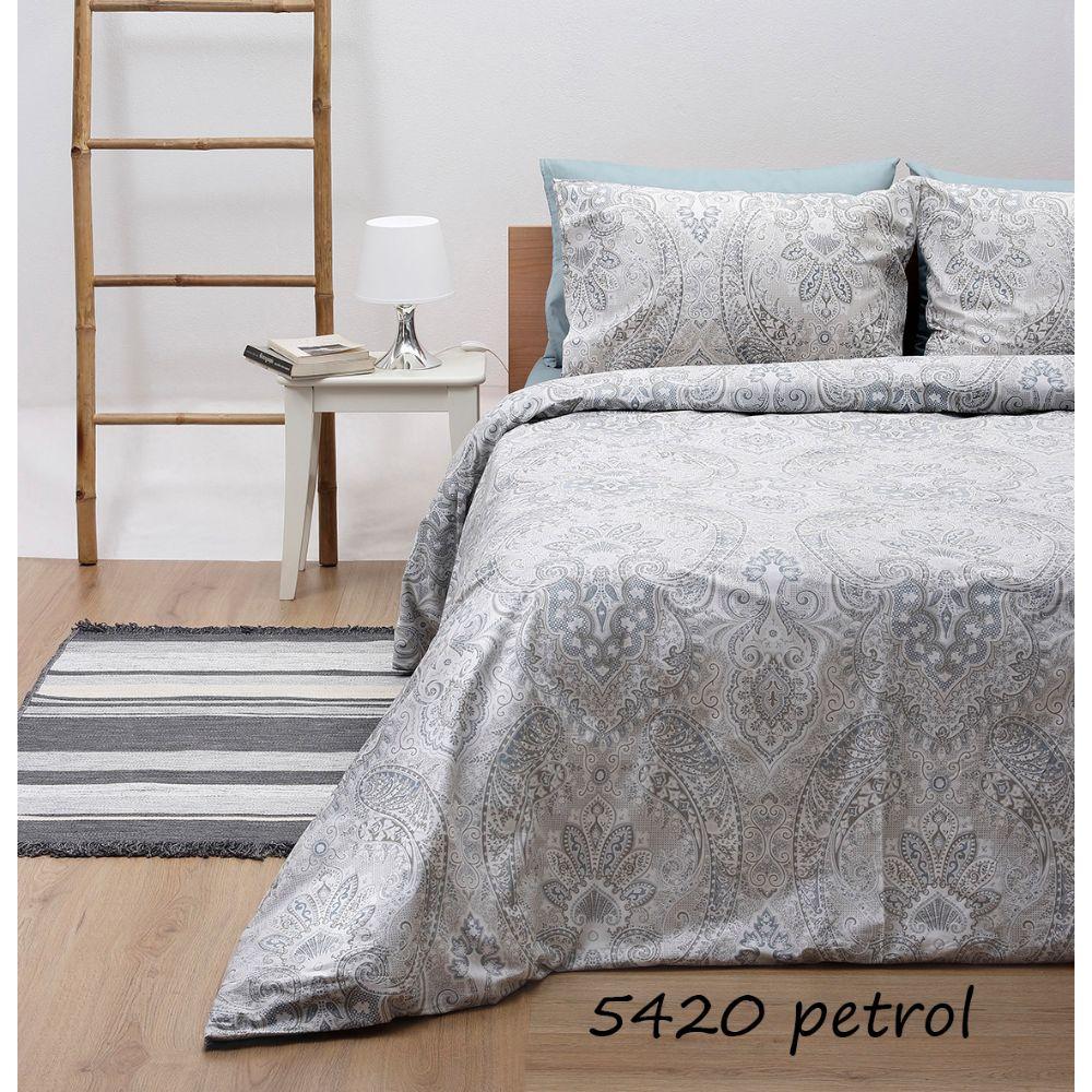 Σεντόνια Διπλά (Σετ) Grey 5420