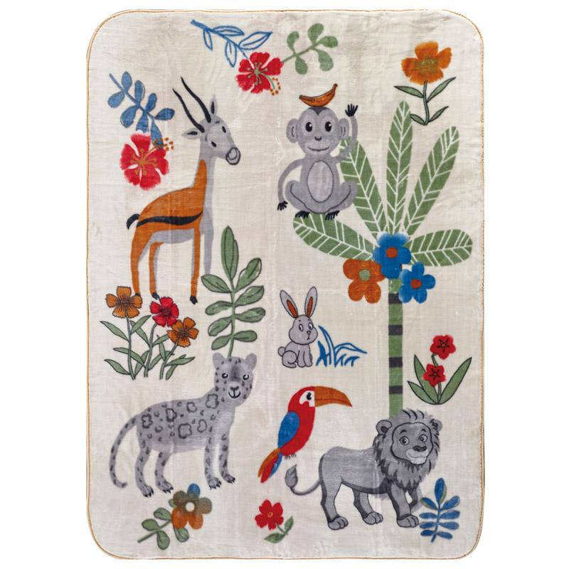 Κουβέρτα Βελουτέ Μονή 160X220 Kentia Animal
