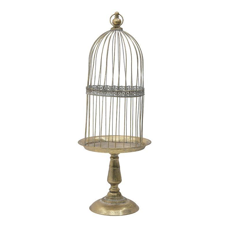 Πιατέλα/Κλουβί Inart 3-70-349-0086