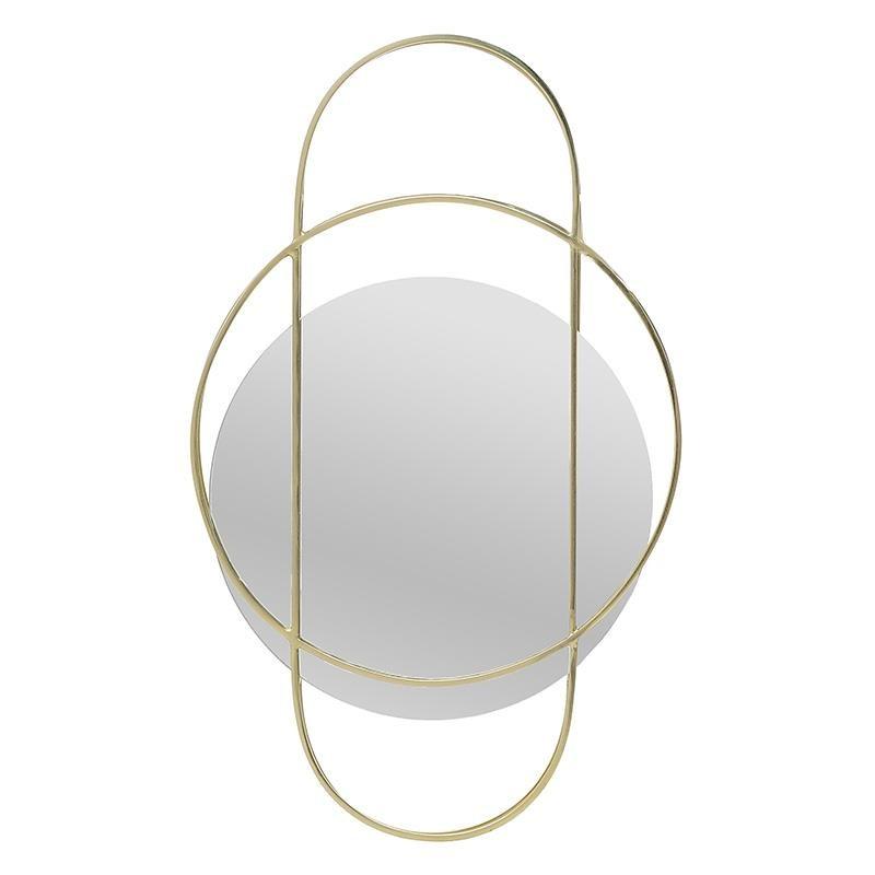 Καθρέπτης Τοίχου Inart 3-95-656-0006