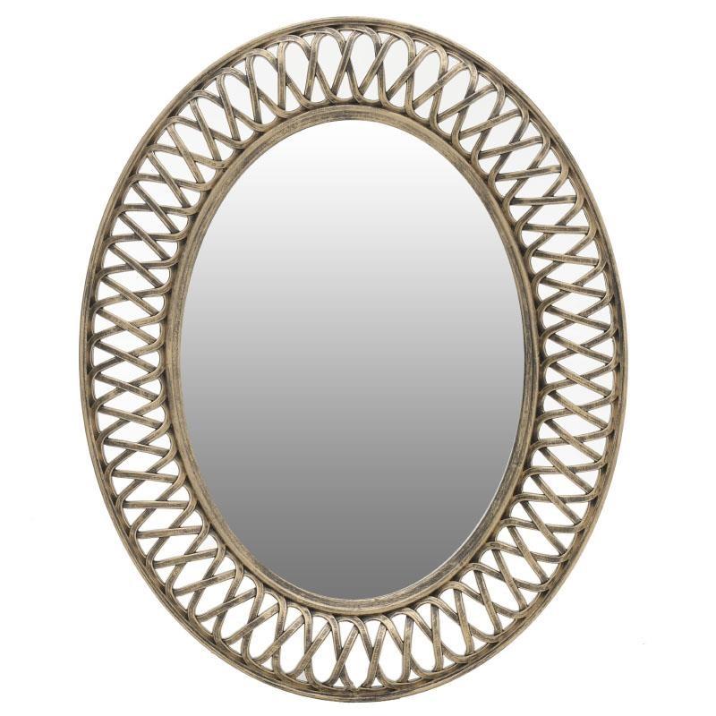 Καθρέπτης Τοίχου Inart 3-95-925-0001 61x76