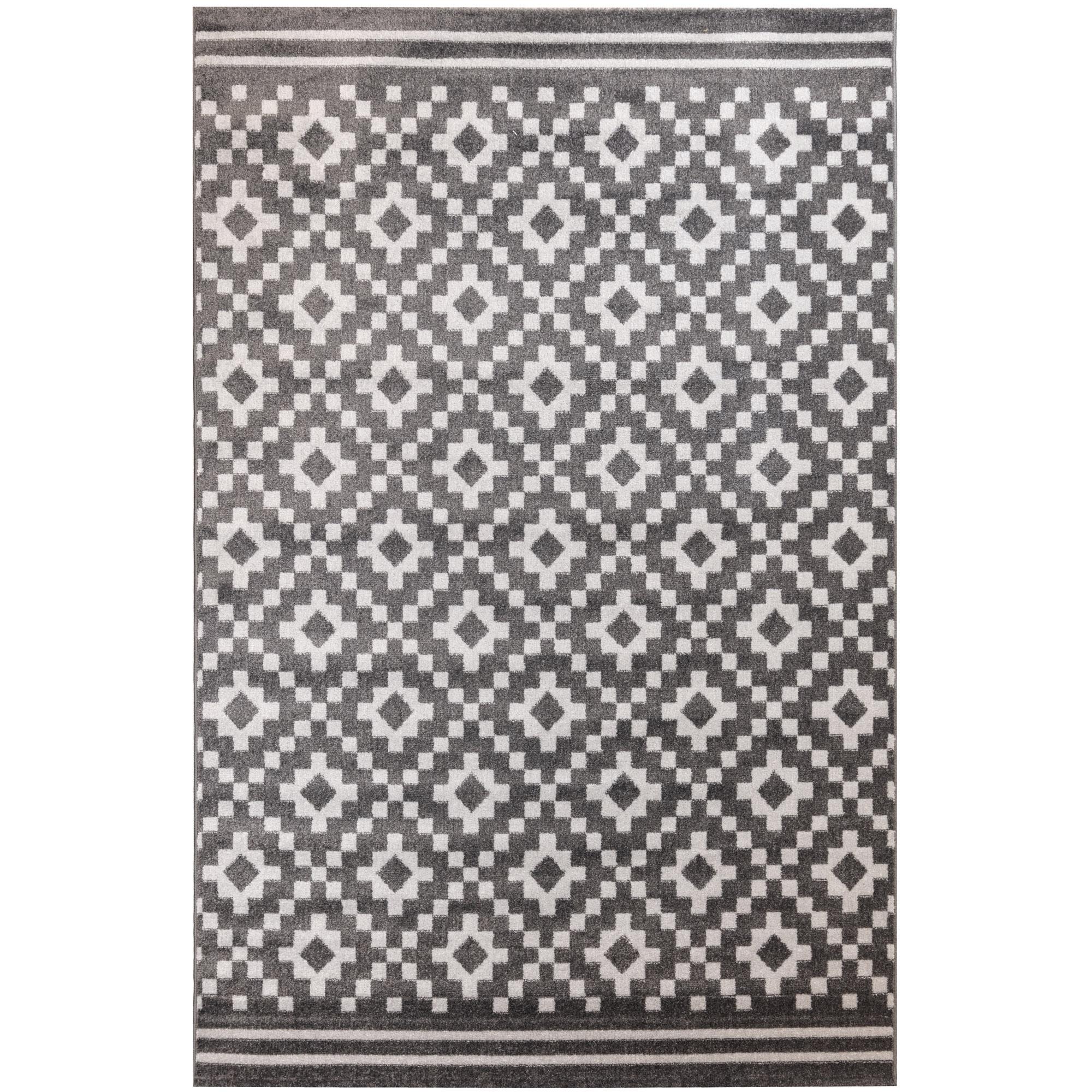 Χαλί Διαδρόμου 67X140 Ezzo All Season Chroma B528Bj8 Dark Grey & Light Grey (67x140)