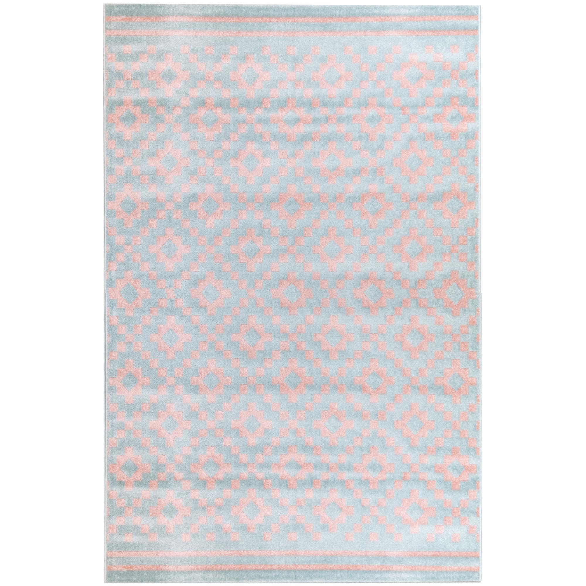Χαλί Διαδρόμου 67X140 Ezzo All Season Chroma B528Cj8 Light Blue & Pink (67x140)