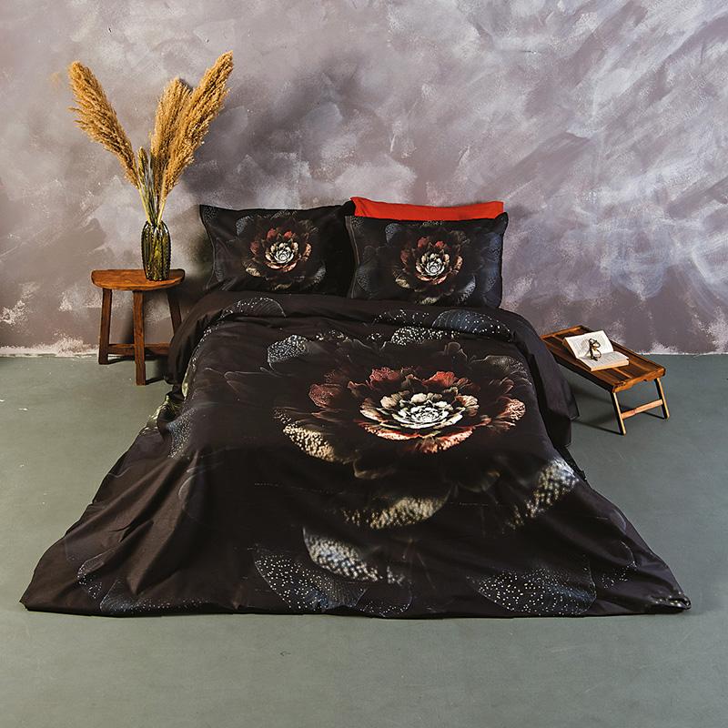 Σεντόνια Υπέρδιπλα (Σετ) 240X260 Sb Home Black Velvet Χωρίς Λάστιχο