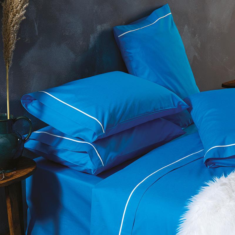 Σεντόνια Μονά (Σετ) 170X260 Sb Home Ios Turquoise Χωρίς Λάστιχο (170×260)