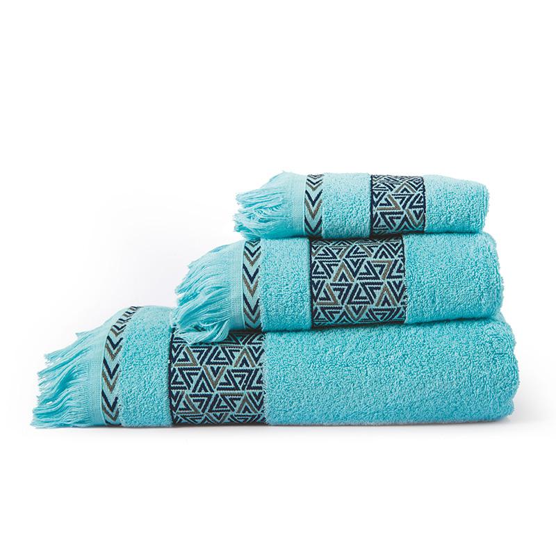 Πετσέτα Χεριών 30X50 Sb Home Rafaela Turquoise