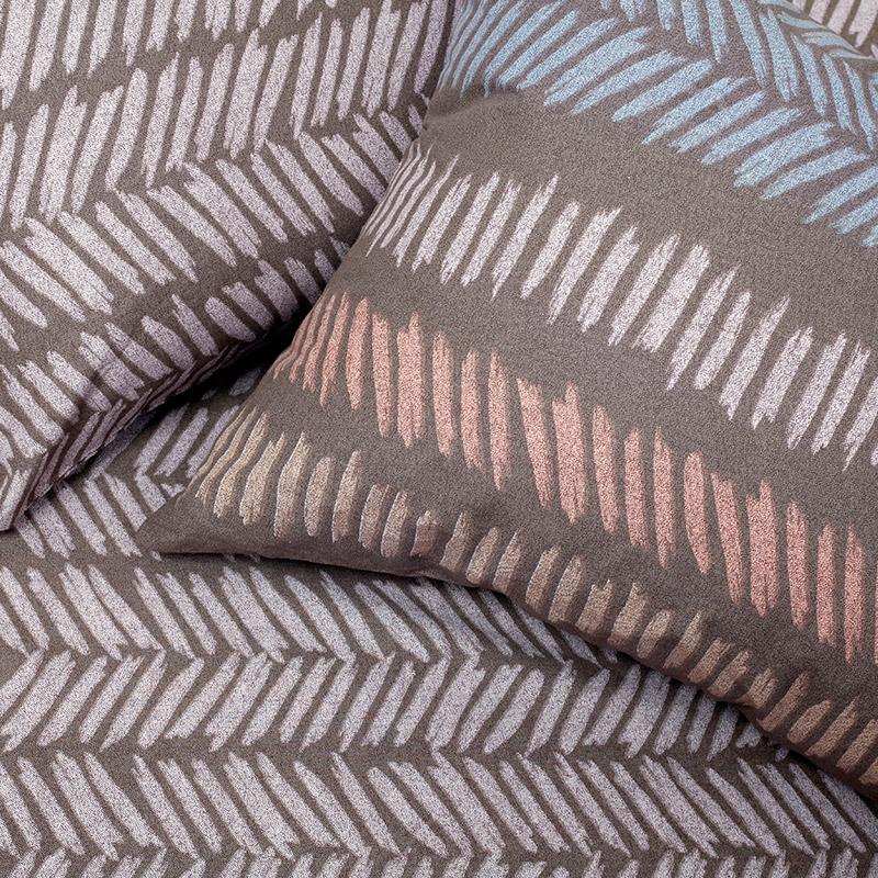 Μαξιλαροθήκες Ζεύγος 50X70 Melinen Ελευθερια Μοκκα σχ. Κατωσέντονου (50×70)