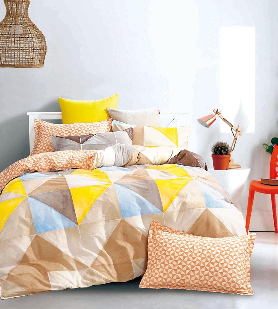 Σεντόνια+Κουβερλι (Σετ 5 Τμχ) Υπέρδιπλο B0642 Palamaiki Bed In A Bag