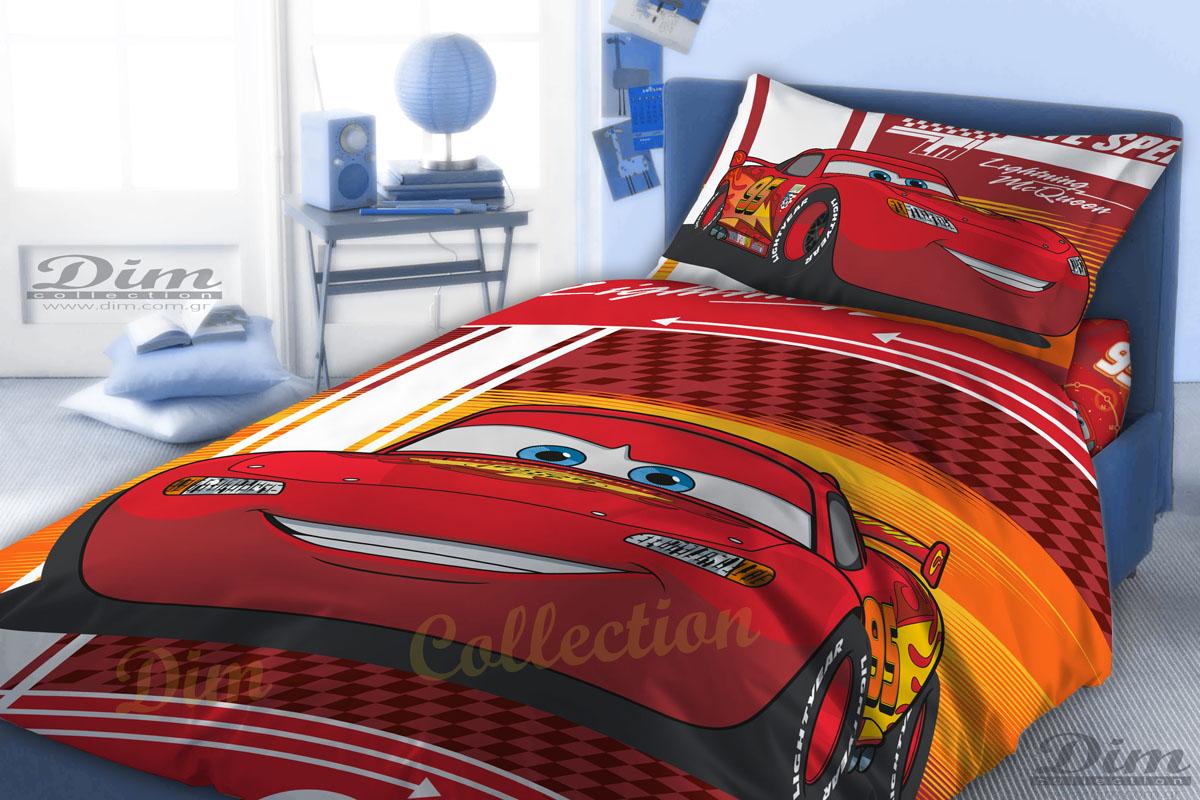 Σεντόνια Μονά (Σετ) Dim – 160Χ250 CARS 570 DIGITAL PRINT