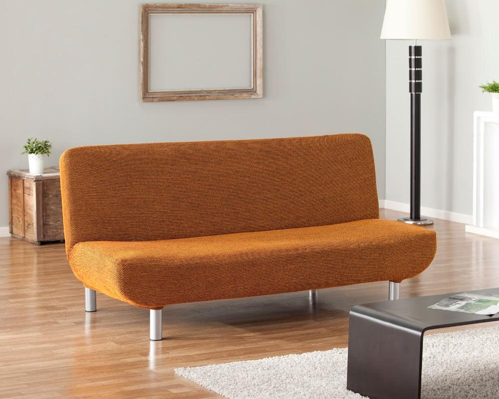 Ελαστικά Καλύμματα Καναπέ Κρεβάτι Click Clack Bielastic Viena-Πορτοκαλί