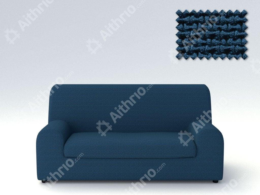 Ελαστικά καλύμματα καναπέ Ξεχωριστό Μαξιλάρι Bielastic Alaska-Πολυθρόνα-Μπλε-10+ Χρώματα Διαθέσιμα-Καλύμματα Σαλονιού