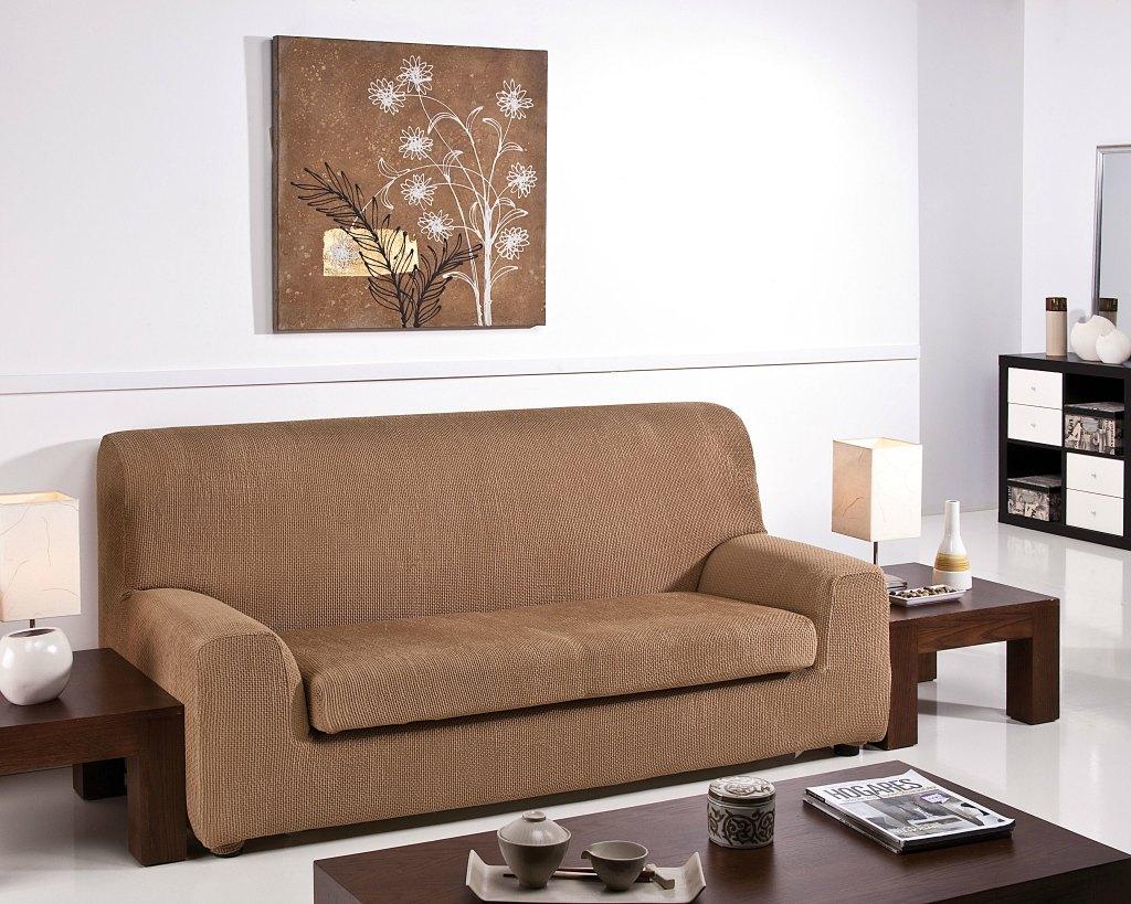 Ελαστικά καλύμματα καναπέ Ξεχωριστό Μαξιλάρι Bielastic Alaska-Διθέσιος-Μπεζ-10+ Χρώματα Διαθέσιμα-Καλύμματα Σαλονιού