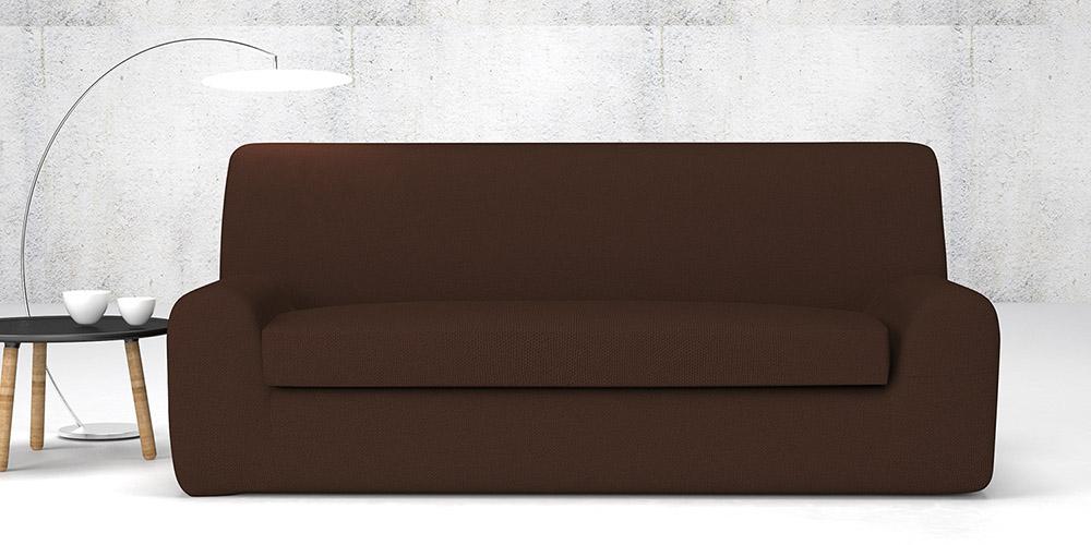 Ελαστικά καλύμματα καναπέ Ξεχωριστό Μαξιλάρι Bielastic Alaska-Διθέσιος-Καφέ-10+ Χρώματα Διαθέσιμα-Καλύμματα Σαλονιού