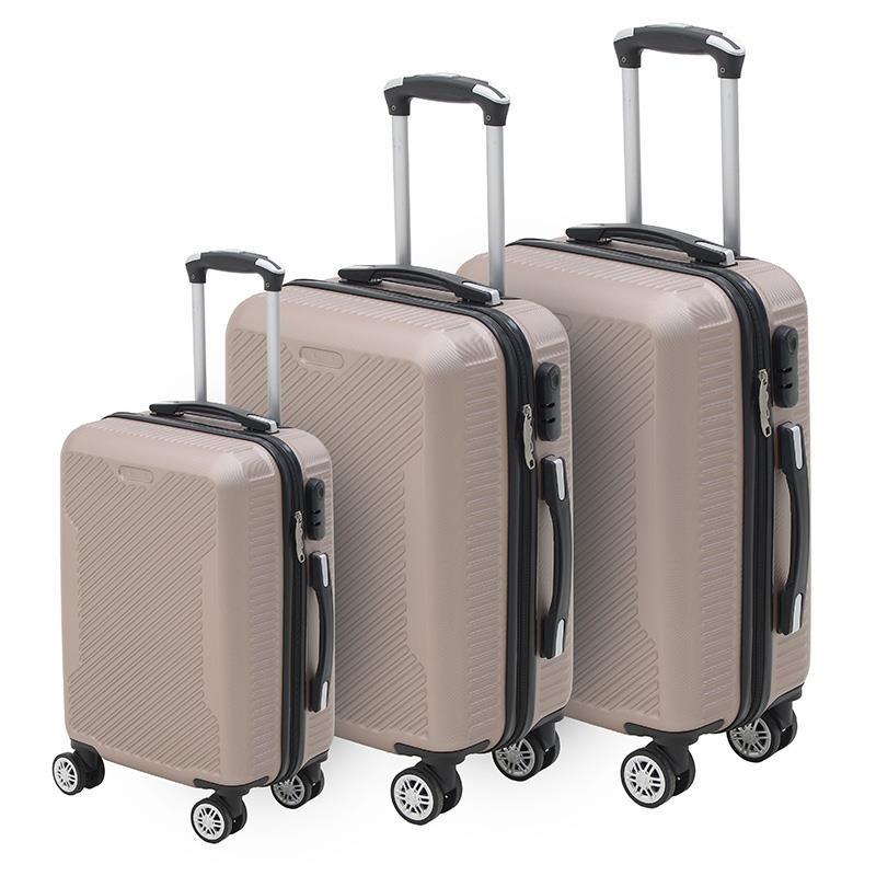 Βαλίτσα Ταξιδιού Σετ Των 3 Click 6-70-059-0052