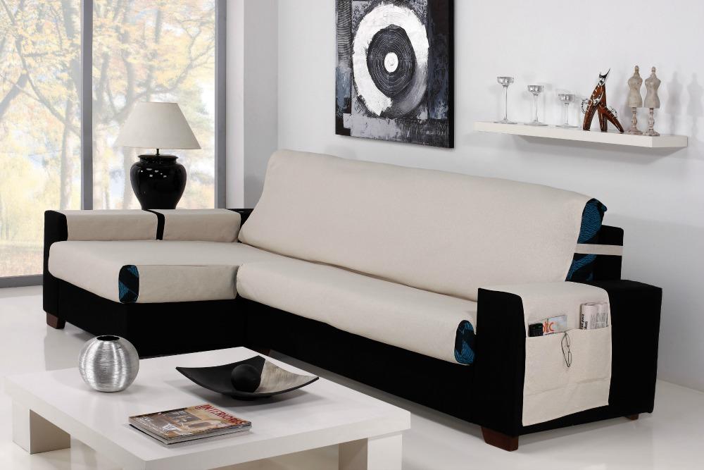 Καλύμματα καναπέ Γωνία Universal Banes-Αριστερη 235cm-Ιβουάρ