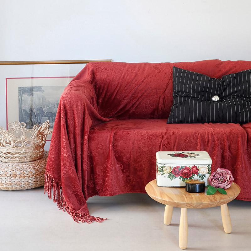 Κουβέρτα Καναπέ 130X170 Melinen Bimba Apple