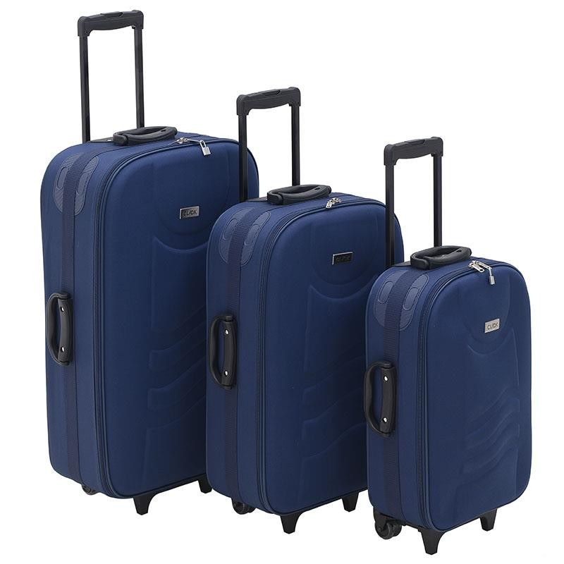 Βαλίτσα Ταξιδιού Σετ Των 3 Click 6-70-014-0003
