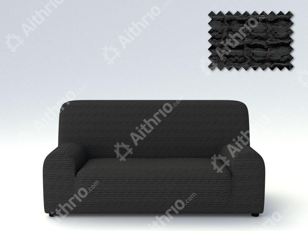 Ελαστικά Καλύμματα Προσαρμογής Σχήματος Καναπέ Canada – C/11 Μαύρο – Τριθέσιος-10+ Χρώματα Διαθέσιμα-Καλύμματα Σαλονιού