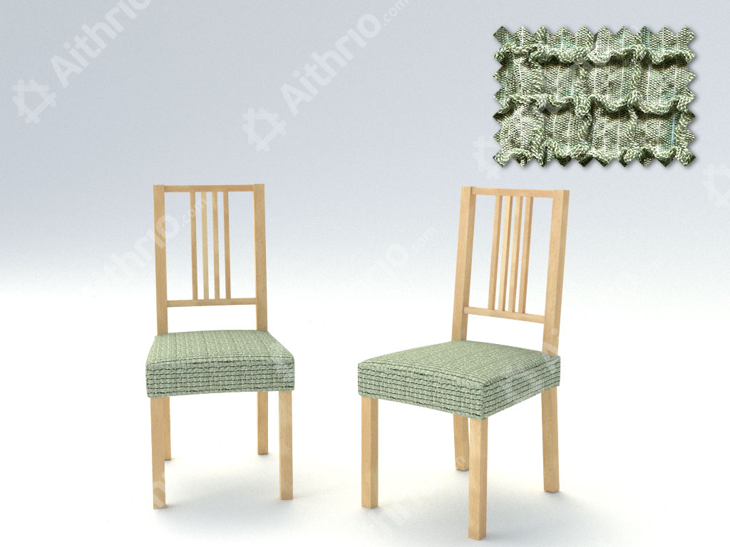 Σετ (2 Τμχ) Ελαστικά Καλύμματα-Καπάκια Καρέκλας Bielastic Canada – C/6 Πράσινο