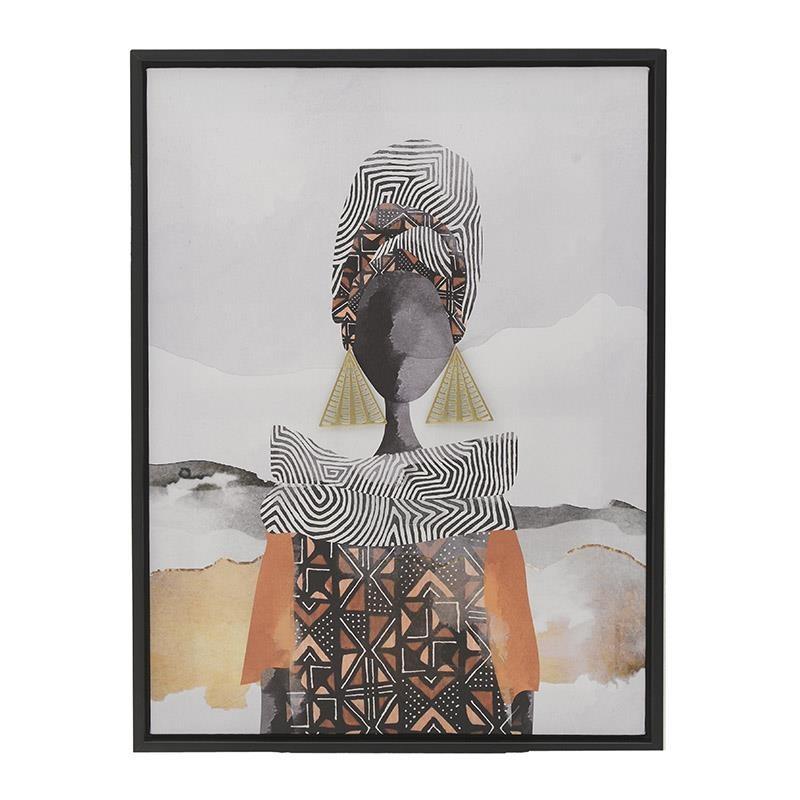 Πίνακας Σε Καμβά Inart 3-90-709-0300