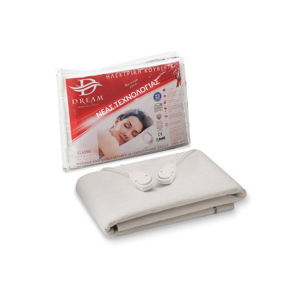 Ηλεκτρική Κουβέρτα Μονή 75×155 Classic Dream