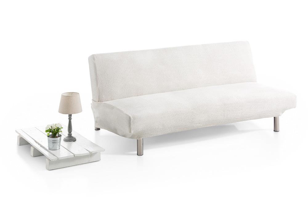 Ελαστικά Καλύμματα Καναπέ Κρεβάτι Clic Clac Bielastic Elegant - C/1 Ιβουάρ  καλύμματα επίπλων καλύμματα καναπέ σαλονιού   πολυθρόνας καλύμματα καναπέ γωνία