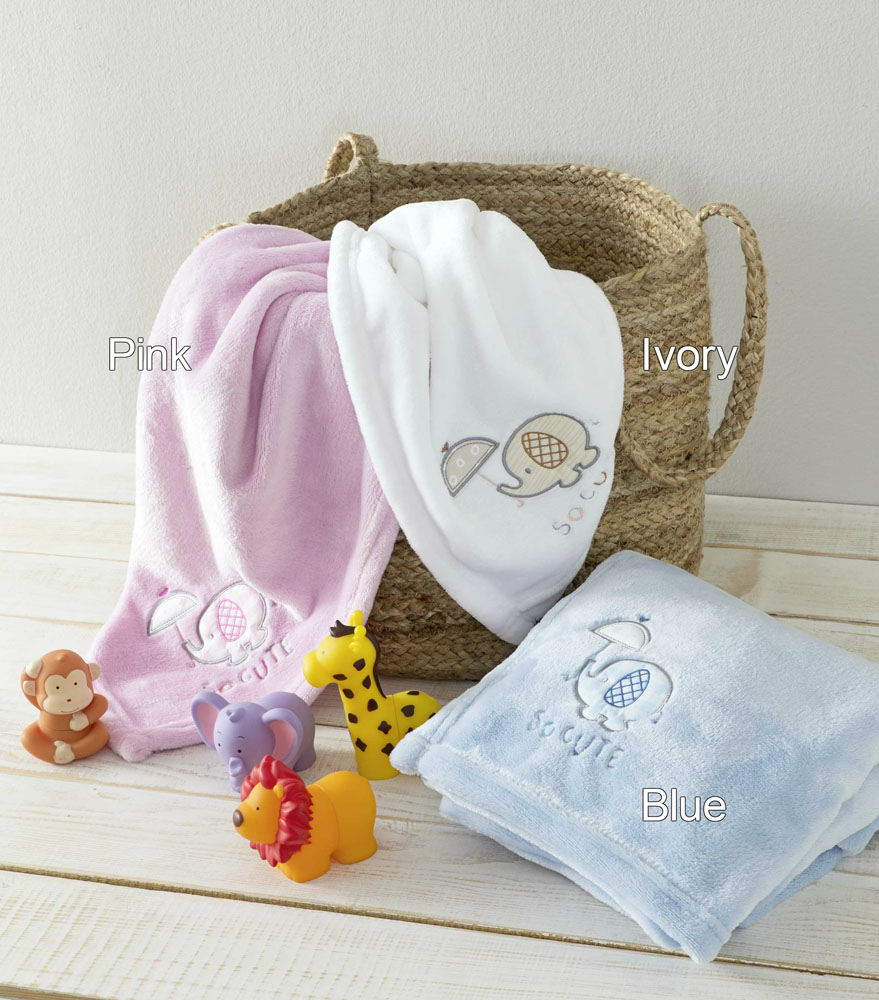 Κουβέρτα Fleece Αγκαλιάς 80×110 με κουκούλα Nima – Cutie White