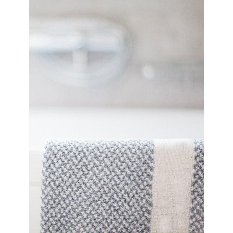 eef439c364 Πατάκι 50x75 Μπάνιου - Γκρι Λευκό Πλαίσιο Ξενοδοχειακό