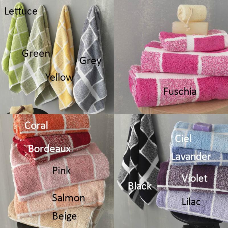 Πετσέτες Μπάνιου (Σετ 3τμχ) 222 Palamaiki Premium Towels 2017