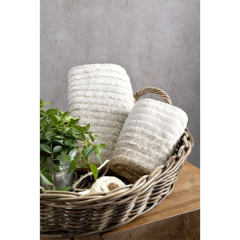 Πετσέτες Προσώπου (Σετ) (2 x 50x90) Le Bain Nima Ombre