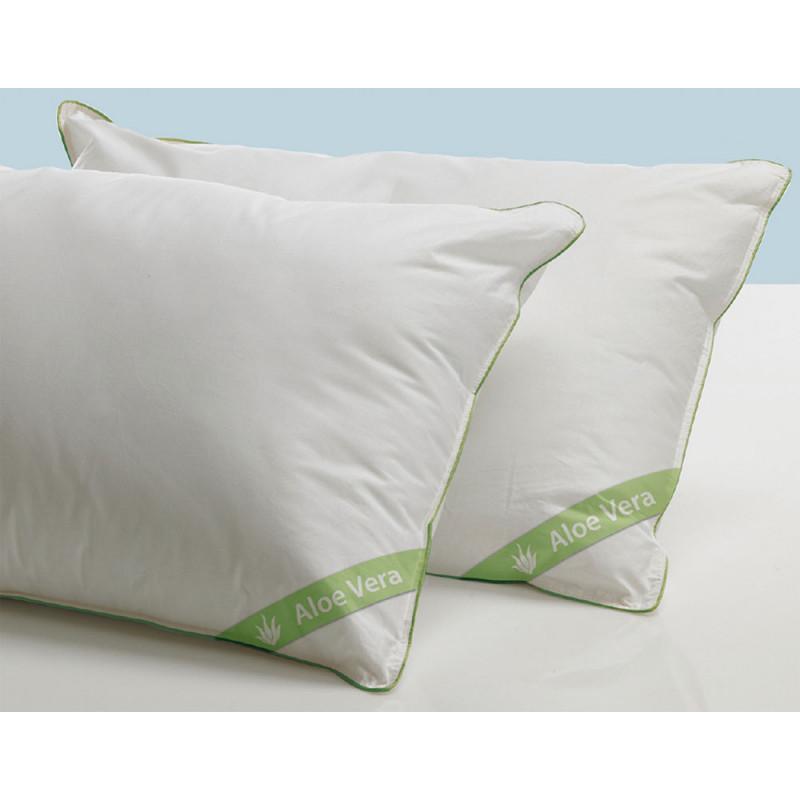 Μαξιλάρια - (Ζευγος) 50x70 Aloe Vera White Comfort Palamaiki White