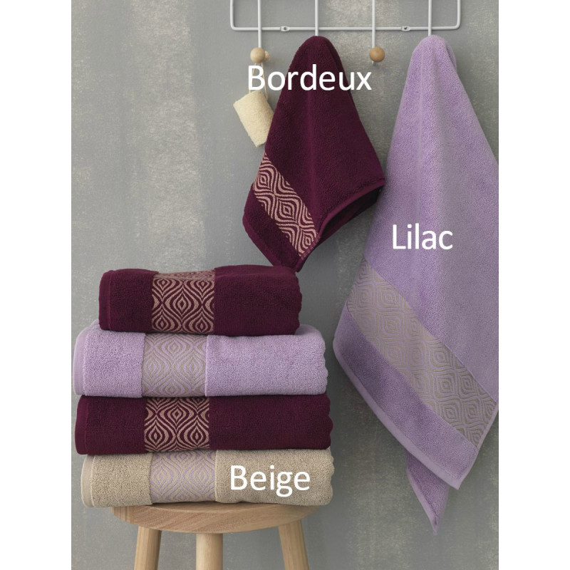 Πετσέτες (Σετ 3 Τμχ) Dizzy Palamaiki Premium Towels