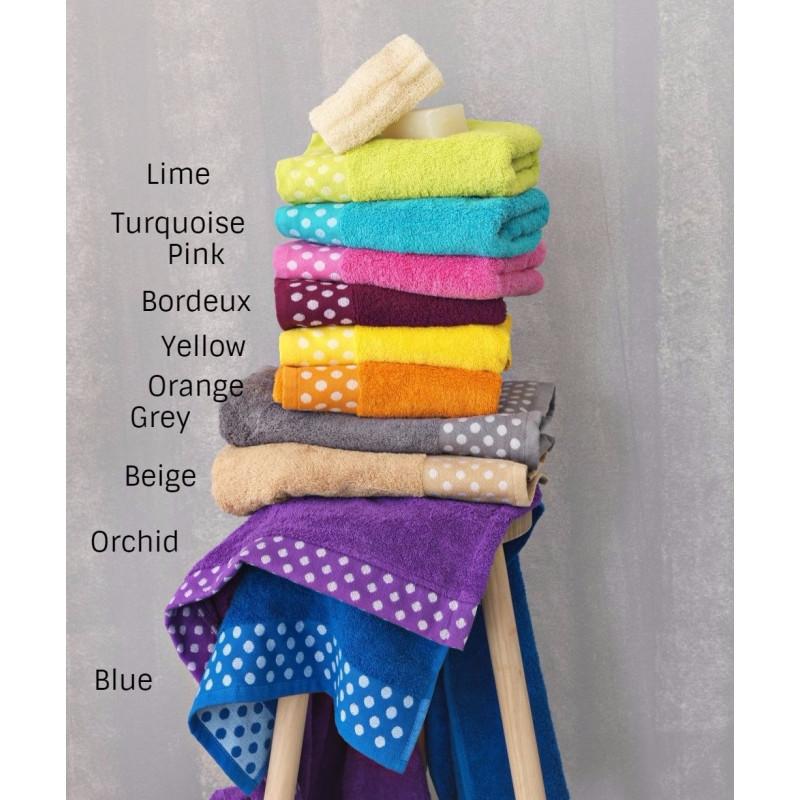 Πετσέτες (Σετ 3 Τμχ) Dots Palamaiki Premium Towels