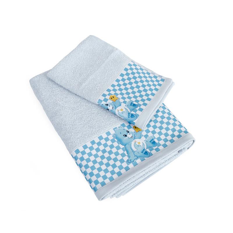 Βρεφικές Πετσέτες (Σετ 2 Τμχ) Dimcol Baby Bear 83 Σιελ