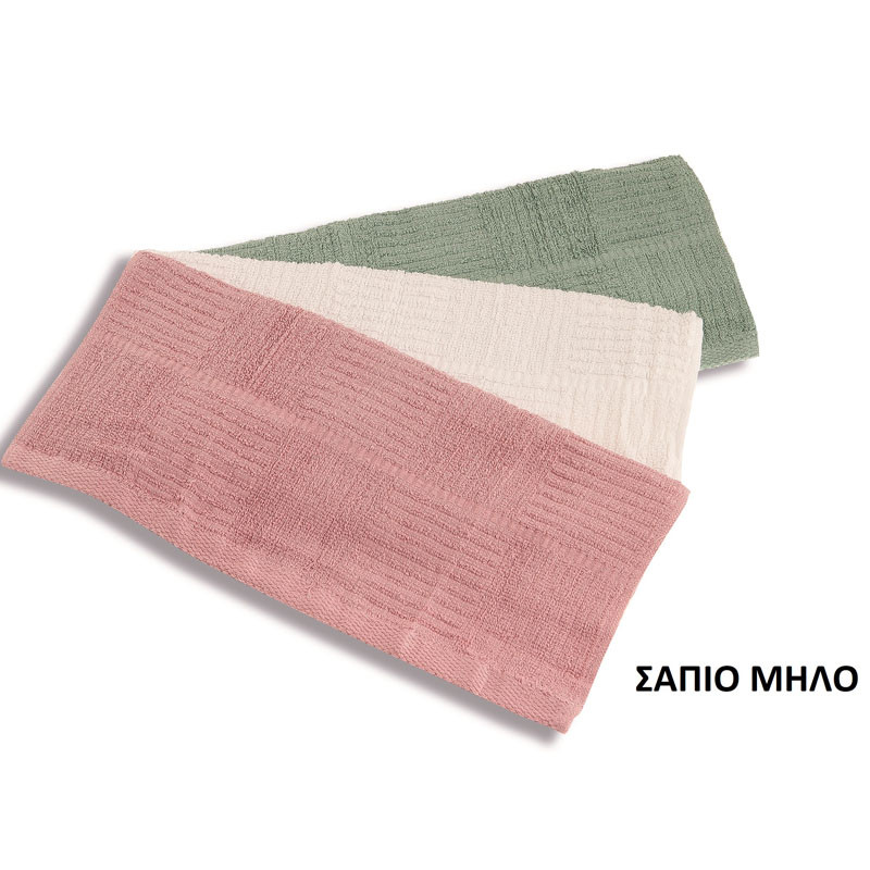 Πετσέτα Κουζίνας 40X70 Dimcol - Σαπιο Μηλο
