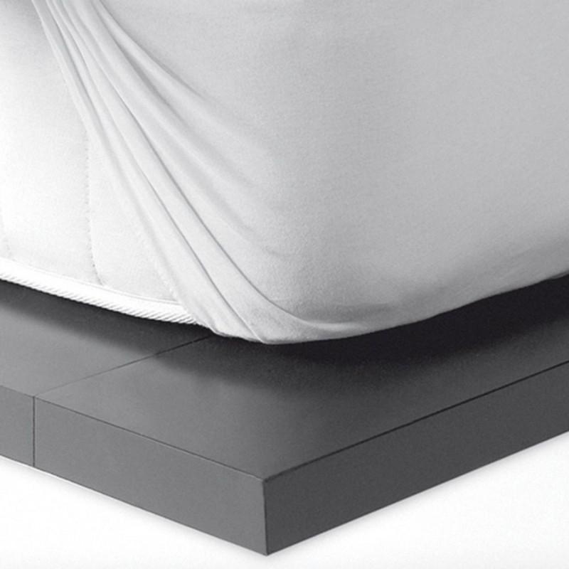 Αδιάβροχο Επιστρώμα Ημίδιπλο 120X200 Kentia Αccesories Cotton Cover120/E Λευκό
