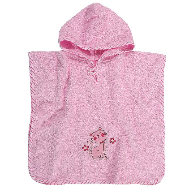 Poncho 45x90 Das Home Smile Embroidery 6541 Ροζ