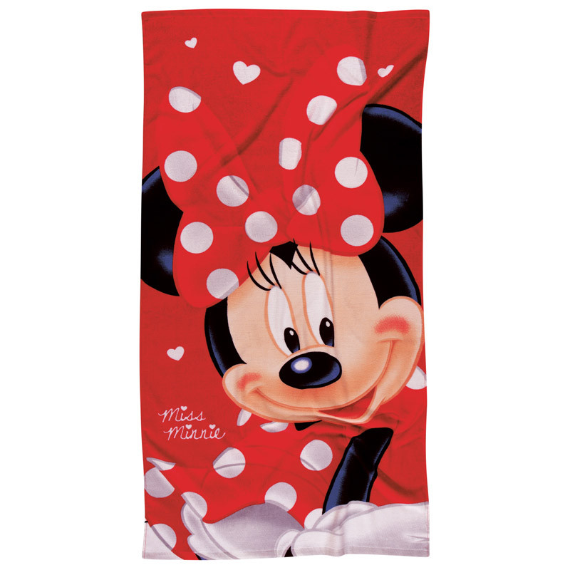 Παιδική Πετσέτα Θαλάσσης 70X140 Das Home Beach Towel Cartoon 5845 Κόκκινο