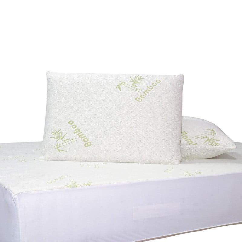 Επίστρωμα Καπιτονέ Μονό 100x200+25 Das Home Comfort Mattress Protectors 1097 Λευκο-Πρασινο