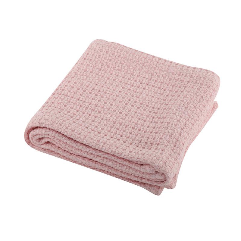 Κουβέρτα Πικέ Κούνιας 110x150 Nef Nef Miracle 19 Pink