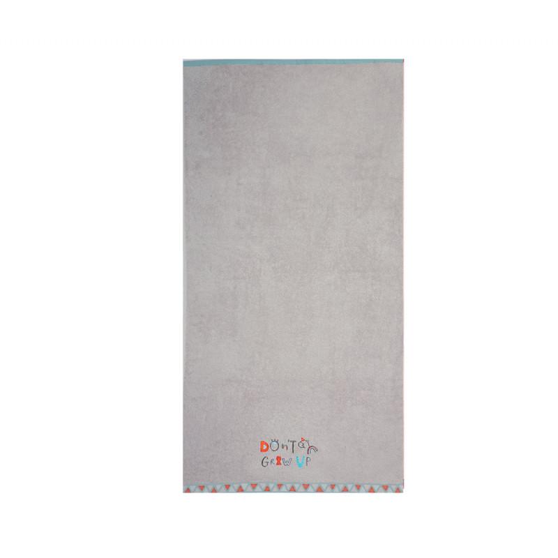 Πετσέτα Θαλάσσης 70x130 Nef Nef Kenthth Don'T Grow Up Grey