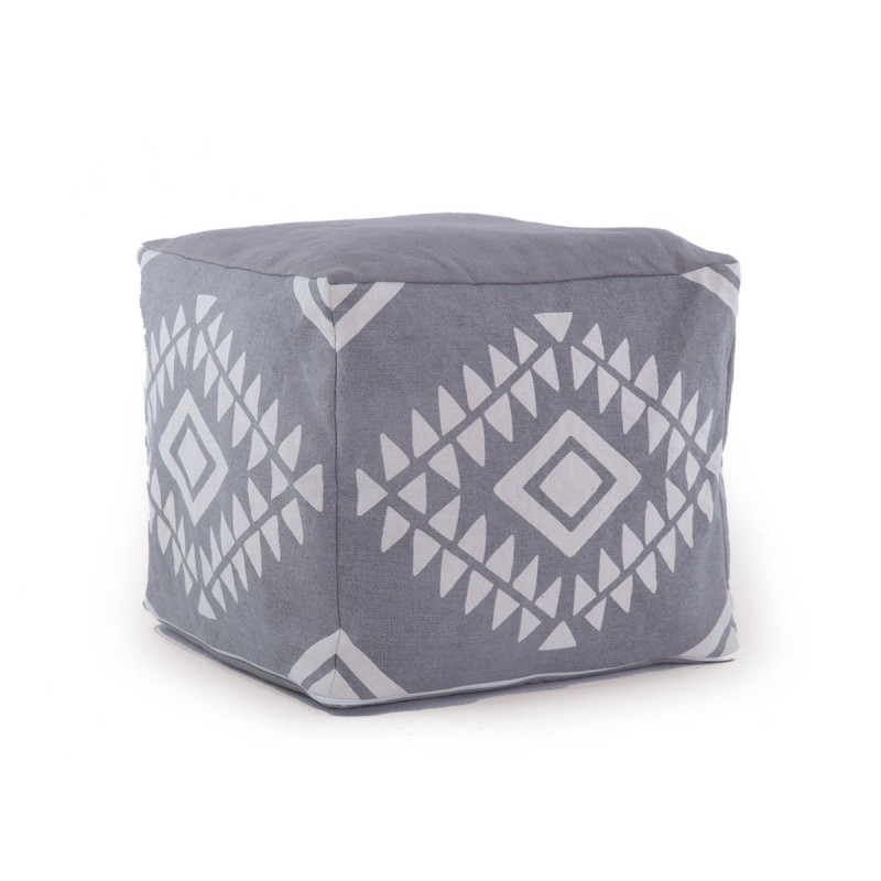 Πουφ 45x45x40 Nef Nef Amber Grey