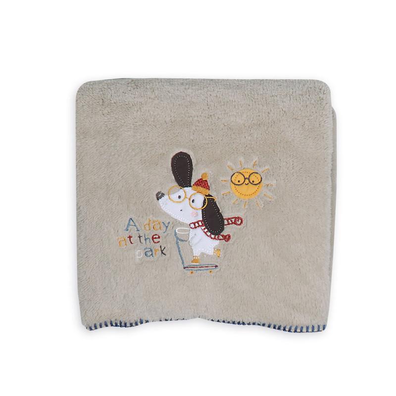 Κουβέρτα Fleece Αγκαλιάς 80x110 Nef Nef A Day At The Park