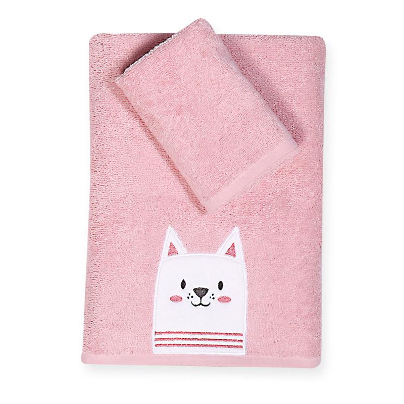 Βρεφικές Πετσέτες (Σετ 2 Τμχ) Nef Nef Kenthth Cat