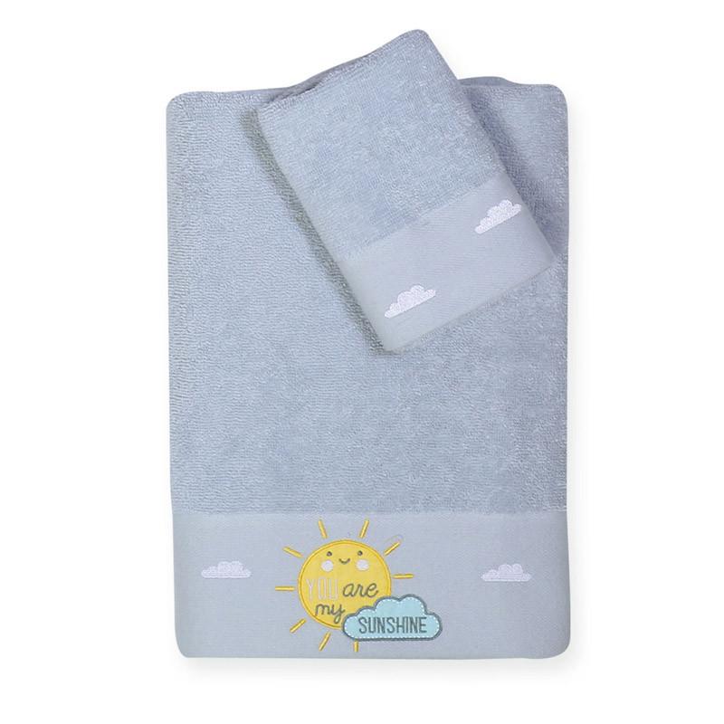 Βρεφικές Πετσέτες (Σετ 2 Τμχ) Nef Nef Kenthth Sunshine