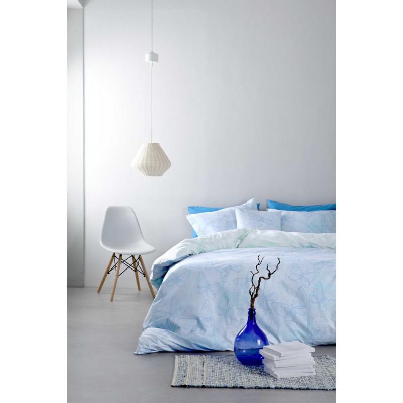 Σεντόνια (Σετ) Υπέρδιπλα - Nima Farfalita Blue