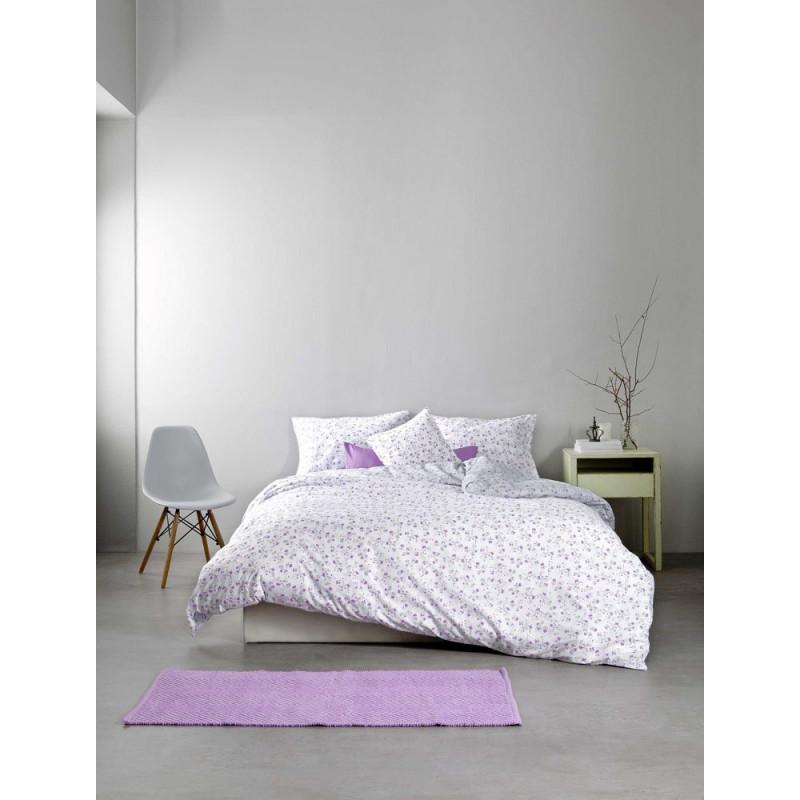 Σεντόνια (Σετ) Υπέρδιπλα - Nima Secret Garden Lilac